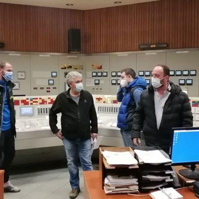 """Toν ΑΗΣ Αγ. Δημητρίου επισκέφτηκε το πρωί της Τετάρτης ο βουλευτής του ΚΚΕΛεωνίδας Στολτίδης – """"Μέτρα για να μην σκοτώνονται οι εργάτες για τα κέρδη εργολάβων και μετόχων"""", ανέφερε στις δηλώσεις του (Βίντεο & Φωτογραφίες)"""