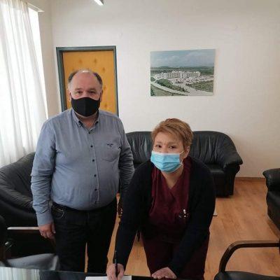 Νέα ορκωμοσία μόνιμης νοσηλεύτριας στο Μποδοσάκειο Νοσοκομείο Πτολεμαϊδας (Φωτογραφίες)