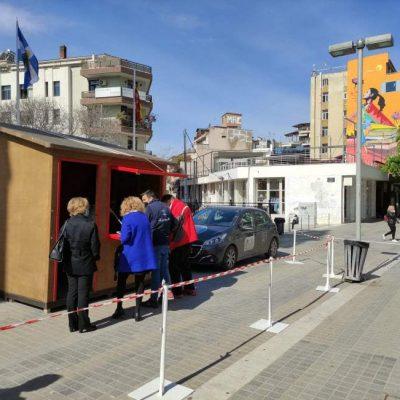 kozan.gr: 1 μόλις θετικό κρούσμα κορωνοϊού  στις 134 δειγματοληψίες που πραγματοποιήθηκαν, σήμερα, στην κεντρική πλατεία Κοζάνης, με τη μέθοδο των rapid tests
