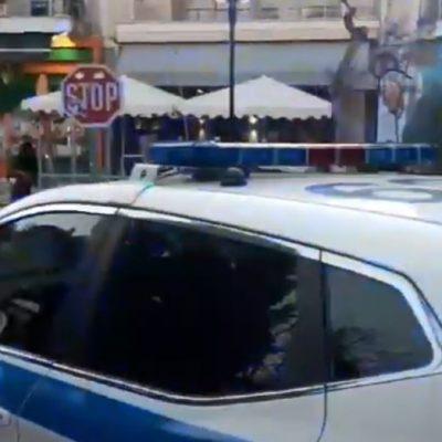 kozan.gr: Ώρα 20:15: Πτολεμαίδα: Με μηνύματα που καλούν τους πολίτες να μη συγχρωτίζονται περιπολικό της αστυνομίας στο κέντρο της πόλης (Βίντεο)