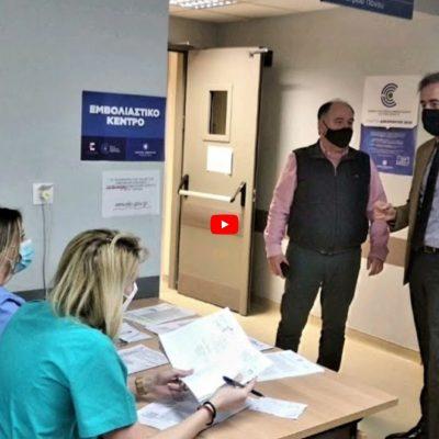 O Βουλευτής Στάθης Κωνσταντινίδης επισκέφτηκε τις Μονάδες Υγείας της Π.Ε. Κοζάνης (Βίντεο)