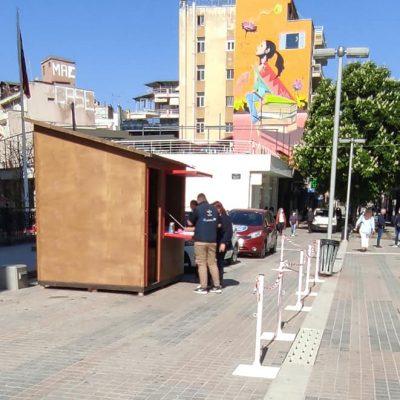 Κοζάνη: 159 αρνητικά rapid tests στους 160 ελέγχους για covid19 στην κεντρική πλατεία