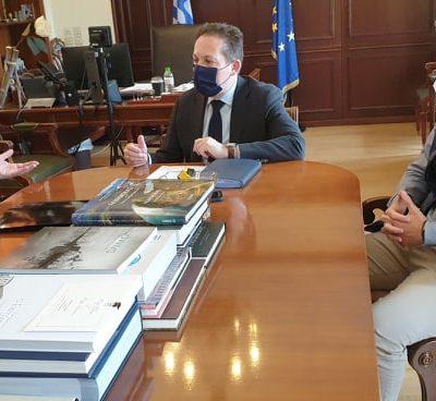 Συνάντηση του Δημάρχου Σερβίων με τον Αν. Υπουργό Εσωτερικών