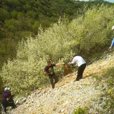 H Πρωτοβουλία πολιτών Εορδαίας ενάντια στις ανεμογεννήτριες και τα φωτοβολταϊκά, μαζί με φίλους ορειβάτες, καθάρισαν, το μονοπάτι προς τον Προφήτη Ηλία στην Ασβεστόπετρα (Φωτογραφίες)