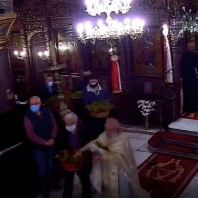 kozan.gr: Η Πρώτη Ανάσταση στον Iερό Μητροπολιτικό Ναό Αγ. Νικολάου Κοζάνης (Βίντεο)
