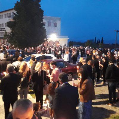 kozan.gr: Η Ακολουθία της Αναστάσεως στον Ι.Ν. Αγ. Κωνσταντίνου & Ελένης στην Κοζάνη (Βίντεο & Φωτογραφίες)