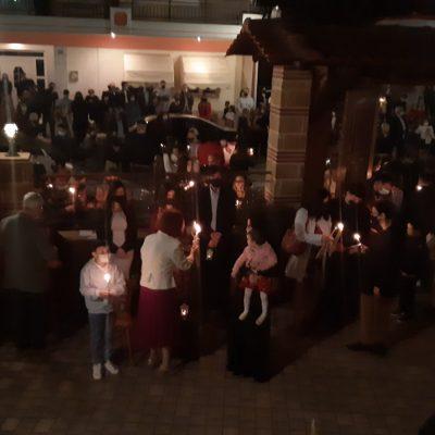 kozan.gr: Η Ακολουθία της Αναστάσεως, με πυροτεχνήματα, στον ιερό ναό των Νεομαρτύρων Πτολεμαΐδας (Βίντεο & Φωτογραφίες)
