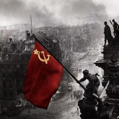 T.Ε. Ενεργειακού Κέντρου του ΚΚΕ:  Εκδήλωση τιμής και μνήμης για τους τρεις σοβιετικούς στρατιώτες Αλεξέι, Σεργκέι και Ρουμπέν, μέλη της ΕΑΜικής εθνικής αντίστασης που σκοτώθηκαν το 1944