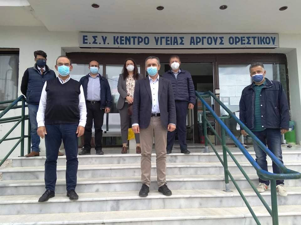 Υπογραφή Προγραμματικής Σύμβασης 2.050.000 € για την Ενεργειακή Αναβάθμιση του Γενικού Νοσοκομείου Καστοριάς παρουσία του Περιφερειάρχη Δυτικής Μακεδονίας Γιώργου Κασαπίδη –  Σειρά έργων από την Περιφέρεια για την βελτίωση των παρεχόμενων υπηρεσιών υγείας.