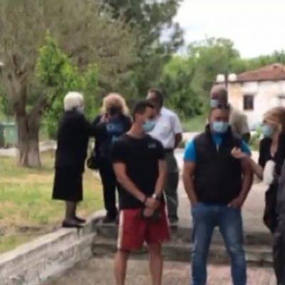 Διαμαρτυρία κατοίκων της Οινόης Κοζάνης για την κατασκευή φωτοβολταϊκών πάρκων στην περιοχή τους (Bίντεο)