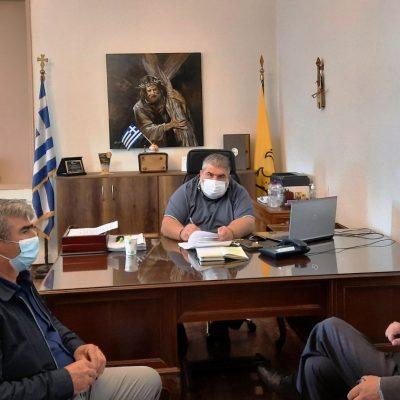 Υπογραφή σύμβασης για το έργο: «Συντήρηση στεγών κοινοτικών καταστημάτων του Δήμου Εορδαίας»