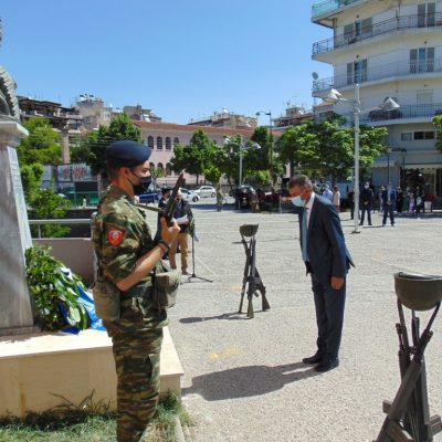 Ο Δήμαρχος Γρεβενών Γιώργος Δασταμάνης στις εκδηλώσεις τιμής και μνήμης για την 102η Επέτειο της Γενοκτονίας των Ελλήνων του Πόντου