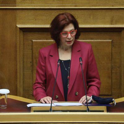 Π. Βρυζίδου: Ομιλία για την ψήφο των Αποδήμων Ελλήνων, στην Ολομέλεια της Βουλής στο νομοσχέδιο του Υπουργείου Εσωτερικών «Άρση περιορισμών για την εγγραφή στους ειδικούς εκλογικούς καταλόγους εκλογέων εξωτερικού»