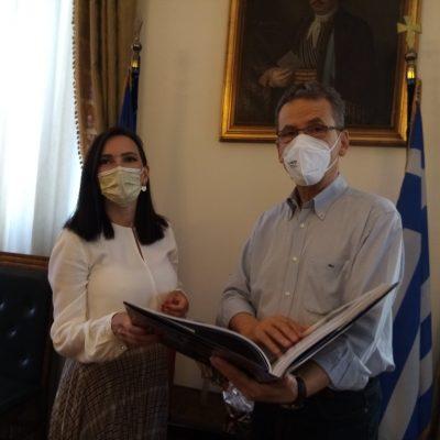 Συνάντηση του Δημάρχου Κοζάνης Λάζαρου Μαλούτα με την Πρέσβη της Βοσνίας – Ερζεγοβίνης Milica Ristovic Krstic