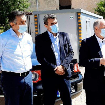 Τα υπό κατασκευή Αστυνομικά Μέγαρα Καστοριάς και Γρεβενών επισκέφθηκε ο Γ.Γ. του Υπουργείου Προστασίας του Πολίτη Κωνσταντίνος Τσουβάλα