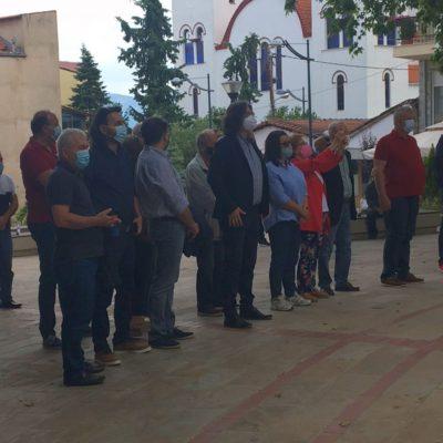 kozan.gr: Συγκέντρωση διαμαρτυρίας, έξω από το Δημαρχείο Σερβίων, πραγματοποίησε το μεσημέρι της Κυριακής 30/5, ο Σύλλογος Επαγγελματιών Ψαράδων, εκφράζοντας, γι' ακόμη μια φορά, την αντίθεσή του, στην κατασκευή πλωτών φωτοβολταϊκών στη λίμνη Πολυφύτου. (Φωτογραφίες & Βίντεο)