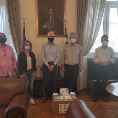 AHEPA Κοζάνης: Δωρεά 2.000 μασκών στο Δήμο Κοζάνης (Φωτογραφίες)