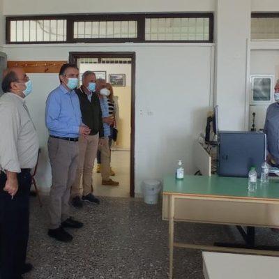 Επίσκεψη του Περιφερειάρχη Δυτικής Μακεδονίας κ. Γιώργου Κασαπίδη στο 1ο ΕΠΑ.Λ Σερβίων