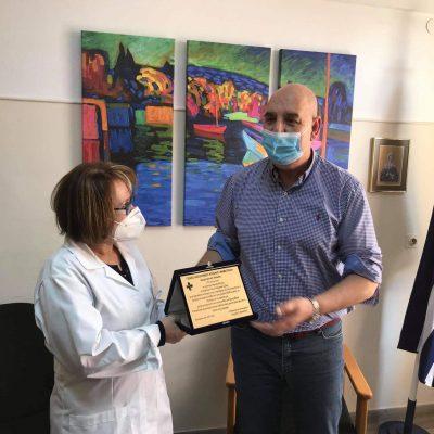 Η Διοίκηση του Νοσοκομείου Κοζάνης με τη συμπλήρωση ενός έτους λειτουργίας του Εργαστηρίου Μοριακής Βιολογίας τίμησε το ανθρώπινο δυναμικό του εργαστηρίου  (Φωτογραφίες)