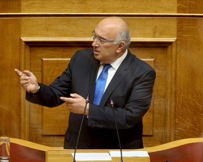 Ομιλία του βουλευτή Π.Ε. Κοζάνης Μ. Παπαδόπουλου για το Ν/Σ του Υπουργείου Εσωτερικών με τίτλο  «Εκλογή Δημοτικών και Περιφερειακών Αρχών»