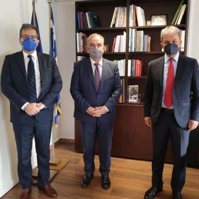 Συνάντηση του Πρύτανη του Πανεπιστημίου Δυτικής Μακεδονίας με τον Αναπληρωτή Υπουργό Ανάπτυξης και Επενδύσεων   Νίκο Παπαθανάση