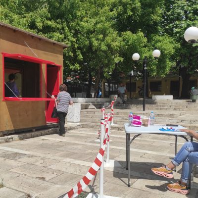 Κοζάνη: Αρνητικά όλα τα rapid tests στην πλατεία Λασσάνη