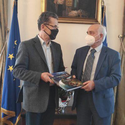 Συνάντηση του δημάρχου Κοζάνης με το Γ.Γ. Επαγγελματικής Εκπαίδευσης και Δια Βίου Μάθησης
