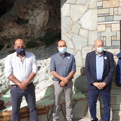 kozan.gr: Σημερινές φωτογραφίες από το εκκλησάκι του Αγ. Γεωργίου στην Ακρινή στο πλαίσιο του εορτασμού της Αναλήψεως