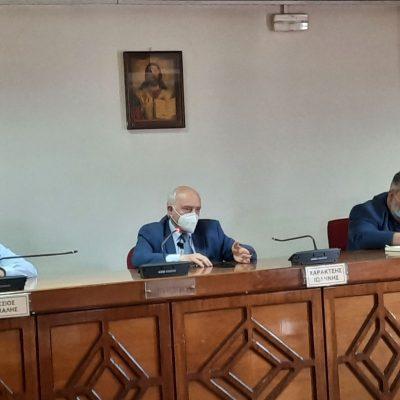 Συνάντηση Δημάρχου Εορδαίας Παναγιώτη Πλακεντά με τον Γενικό Γραμματέα Επαγγελματικής Εκπαίδευσης και Δια Βίου Μάθησης του Υπουργείου Παιδείας Γιώργο Βούτσινο. Σύσκεψη με τους διευθυντές των ΕΠΑΛ παρουσία του Περιφερειάρχη Δυτικής Μακεδονίας