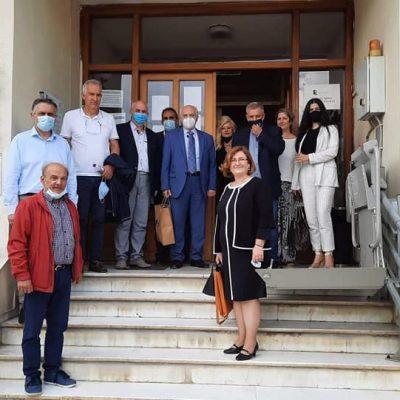 Επίσκεψη του Γενικού Γραμματέα Επαγγελματικής Εκπαίδευσης, Κατάρτισης, Διά Βίου Μάθησης και Νεολαίας του Υ.ΠΑΙ.Θ., Γεώργιου Βούτσινου, στην Π.Ε. Κοζάνης