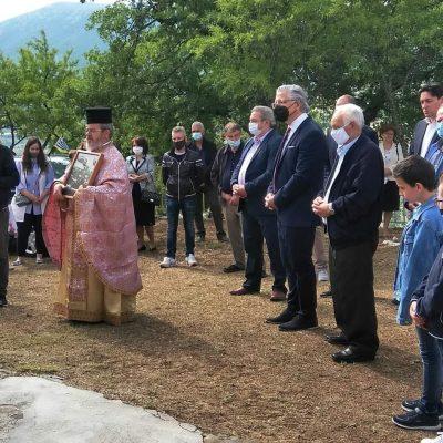 kozan.gr: Γαλατινή Βοΐου: Εορτασμός της Αναλήψεως με Θεία λειτουργία και προσκύνημα των καβαλάρηδων, πραγματοποιήθηκε το πρωί της Πέμπτης 10/6,  στο εξωκλήσι της Αναλήψεως