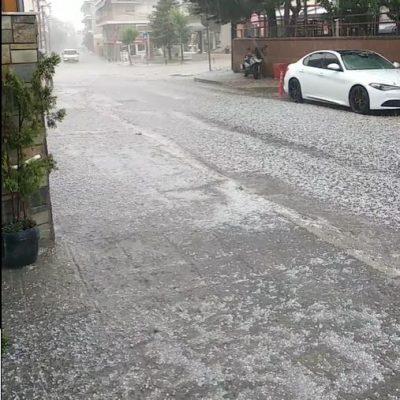 kozan.gr: Καταιγίδα με έντονη χαλαζόπτωση στην  πόλη της Κοζάνης και την ευρύτερη περιοχή, το μεσημέρι της Παρασκευής 11/6 – Άσπρισαν τα πάντα σε μερικές γειτονιές (Βίντεο)