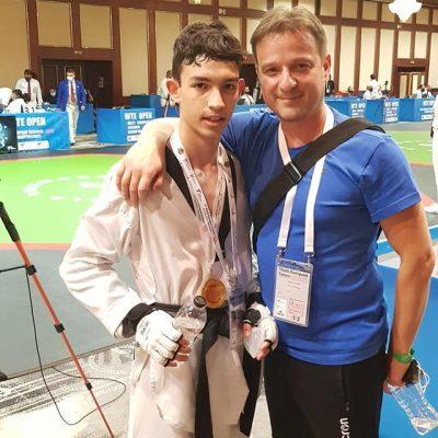 kozan.gr: Χρυσό μετάλλιο στο multi European taekwondo championship, για, τον Κοζανίτη, Νικόλαο Ρούση – Εξασφάλισε την πρόκριση για το πανευρωπαϊκό πρωτάθλημα παίδων τον Αύγουστο στην Εσθονία (Φωτογραφίες)