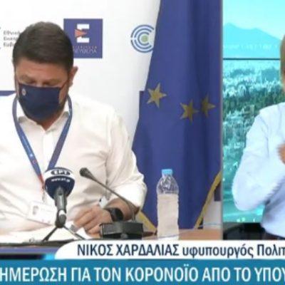 """kozan.gr: N. Xαρδαλιάς: """"Υποχωρεί το ιϊκό φορτίο στα Γρεβενά – Πέφτει επίπεδο η Π.Ε. Γρεβενών από το πορτοκαλί (επίπεδο 3) πηγαίνει στο κίτρινο (επίπεδο 2)"""" (Βίντεο)"""