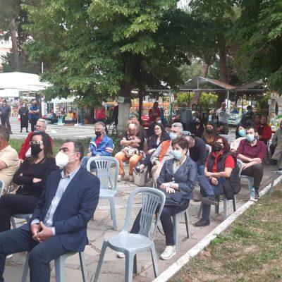 "kozan.gr: Εκδήλωση – συζήτηση με θέμα ""Αιολικά, Φωτοβολταϊκά στα βουνά μας κι η ""πράσινη ανάπτυξη"""" πραγματοποιήθηκε, το απόγευμα της Κυριακής 13 Ιουνίου, στο παλαιό πάρκο στην Πτολεμαίδα (Βίντεο & Φωτογραφίες)"
