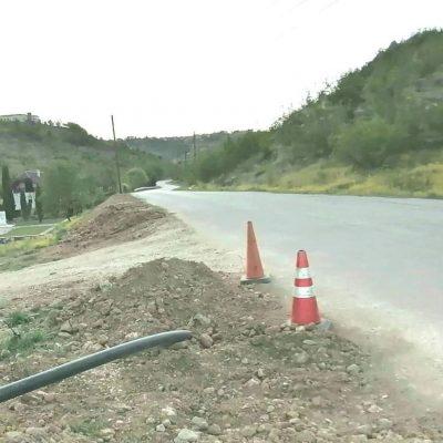 Εγκατάσταση νέου κεντρικού αγωγού υδροδότησης της περιοχής Μπάρας Σιάτιστας