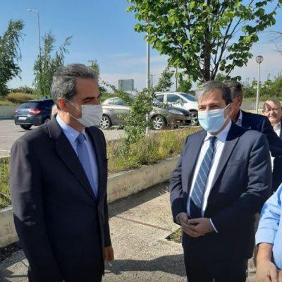 Έφτασε στη Δυτική Μακεδονία ο Υφυπουργός Παιδείας Παιδείας και ΘρησκευμάτωνΆγγελος Συρίγος