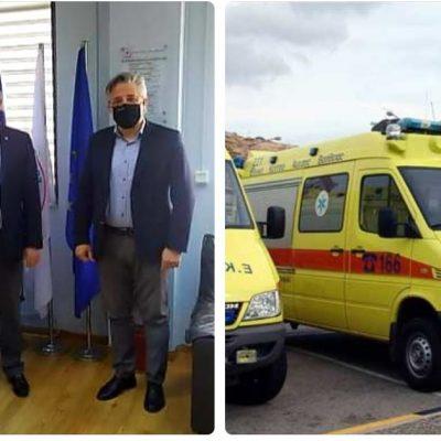 """Χ. Ζευκλής: """"Χαιρετίζουμε την εξαγγελία του προέδρου του ΕΚΑΒ  κ. Νίκου Παπαευσταθίου για την ίδρυση τομέα ΕΚΑΒ που θα περιλαμβάνει Ειδικό Τμήμα Ιατρικής Καταστροφών (ΕΤΙΚ), στο κτίριο του πρώην Δημαρχείου Ασκίου"""""""