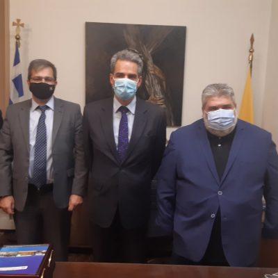 kozan.gr:  Με την επίσκεψη στο Δημαρχείο Εορδαίας ολοκληρώθηκε η διήμερη επίσκεψη του Υφυπουργού Παιδείας, Άγγελου Συρίγου- Τι συζήτησαν με τον Δήμαρχο Εορδαίας Π.Πλακεντά (Βίντεο & Φωτογραφίες)