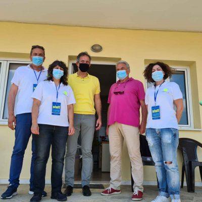 Στους Πανευρωπαϊκούς Αγώνες, στον Όμιλο Αντισφαίρισης Πτολεμαΐδας, ο Βουλευτής ΠΕ Κοζάνης Στάθης Κωνσταντινίδης