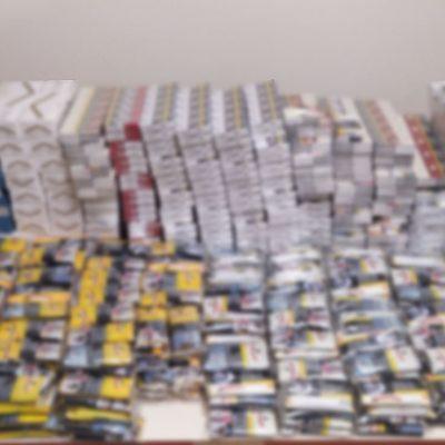 Σύλληψη δύο ατόμων στην Πτολεμαΐδα  για παράβαση νομοθεσίας περί τελωνειακού κώδικα –    Συνολικά κατασχέθηκαν -4.502- πακέτα αφορολόγητων τσιγάρων και ποσότητα αδασμολόγητου καπνού, βάρους -25- κιλών και -200- γραμμαρίων