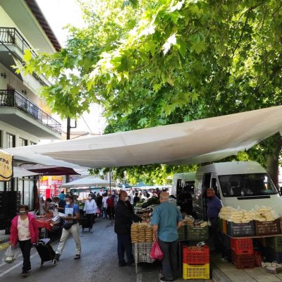 Η Δημοτική Κίνηση Κοζάνη – Τόπος να Ζεις για την επαναλειτουργία της λαϊκής αγοράς Κοζάνης με το 100% της δυναμικότητάς της