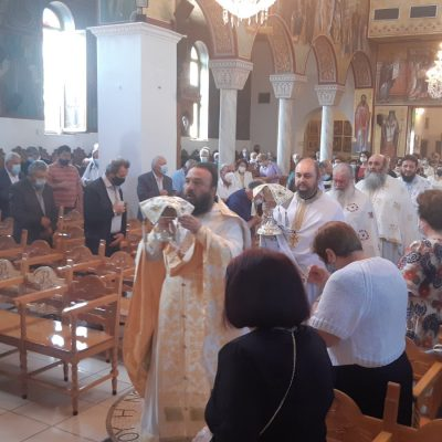 kozan.gr: Πτολεμαίδα: Η σημερινή πανηγυρική Θεία Λειτουργία στον Ιερό Ναό Αγίας Τριάδας (Βίντεο)