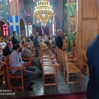 kozan.gr:  Η σημερινή πανηγυρική Θεία Λειτουργία – Όρθρος στον Ιερό Ναό Αγ. Τριάδος Δρεπάνου Κοζάνης ιερουργούντος του Σεβασμιοτάτου Μητροπολίτου Σερβίων & Κοζάνης κ.κ. Παύλου (Βίντεο & Φωτογραφίες)