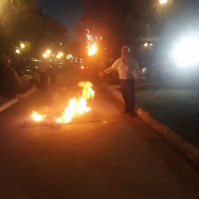 """""""Λαμπάδιασε"""" το βράδυ, της Τετάρτης 23/6, η Κάτω Πτολεμαΐδα με τις φωτιές που άναψαν σε γειτονιές και μπροστά από τη Θρακική Εστία Εορδαίας τηρώντας το έθιμο με τις φωτιές του Αι- Γιάννη (Φωτογραφίες)"""
