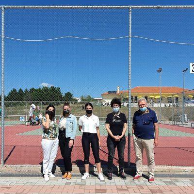 Εθελοντές και εθελόντριες του Πανεπιστημίου Δυτικής Μακεδονίας στο Ευρωπαϊκό πρωτάθλημα «Tennis Europe 2021» που διεξήχθη στην Πτολεμαΐδα