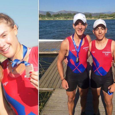 Στην Εθνική Ομάδα κλήθηκαν τρεις αθλητές του τμήματος κωπηλασίας του Ναυτικού Ομίλου Κοζάνης