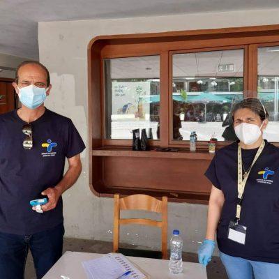 15 αρνητικά και 2 θετικά τα αποτελέσματα των rapid tests στην κεντρική πλατεία Κοζάνης