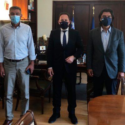 Επαφές Γιώργου Δασταμάνη στην Αθήνα: Ο Δήμαρχος Γρεβενών συναντήθηκε με Στέλιο Πέτσα και Αλεξάνδρα Σδούκου