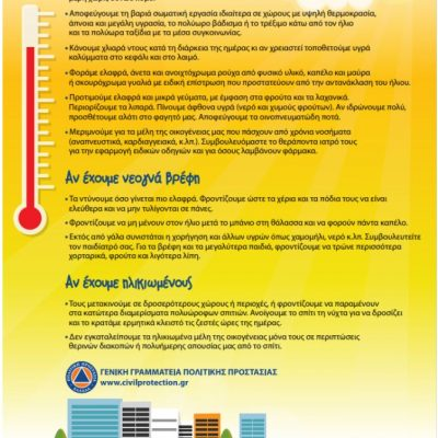 Καύσωνας: Κλιματιζόμενες αίθουσες του Δήμου Κοζάνης στη διάθεση των πολιτών